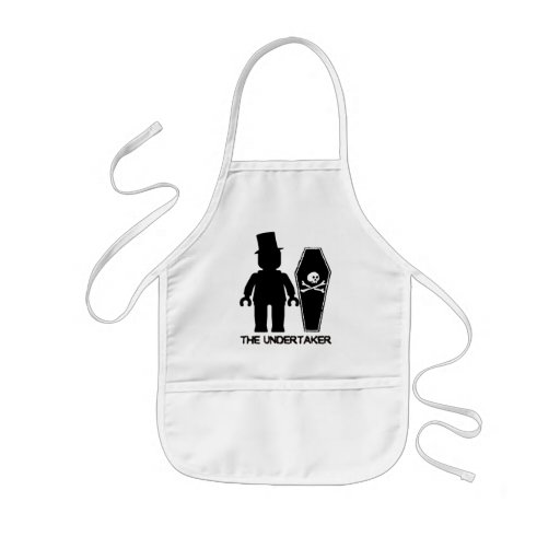 The Undertaker Minifig by Customize My Minifig Kids' Apron