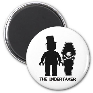 The Undertaker Minifig by Customize My Minifig Magnet