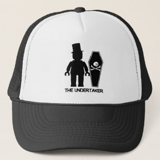 The Undertaker Minifig by Customize My Minifig Trucker Hat