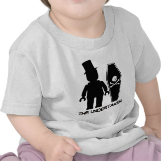 The Undertaker Minifig by Customize My Minifig Tshirt