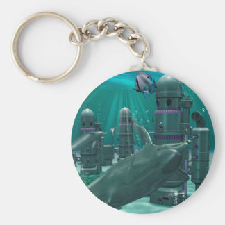 The underwater city keychains