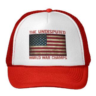The Undisputed World War Champions (distressed) Trucker Hat