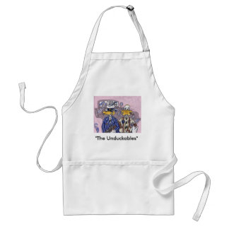 The Unduckables Untouchables Adult Apron
