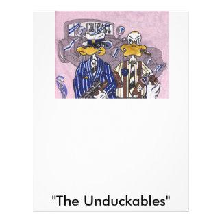 The Unduckables Untouchables Letterhead