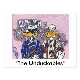 The Unduckables Untouchables Postcard