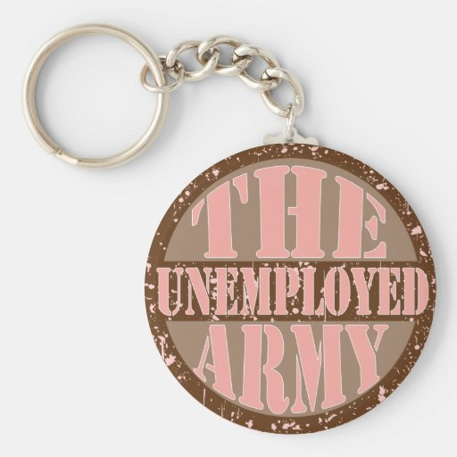 The Unemployed Army Keychains