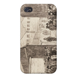 The Unemployed of London iPhone 4 Covers