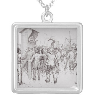 The Unemployed of London Silver Plated Necklace