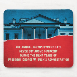 The Unemployment Rate Mouse Pad