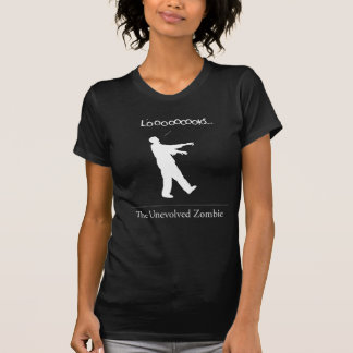 The Unevolved Zombie Tee Shirt