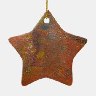 The Unforming Star Ceramic Ornament