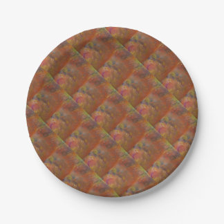 The Unforming Star Paper Plate