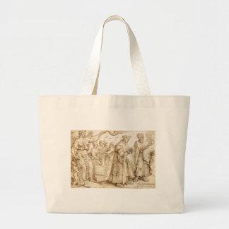 The Unhappy Lot of the Rich Maerten van Heemskerck Jumbo Tote Bag