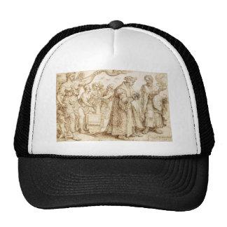 The Unhappy Lot of the Rich Maerten van Heemskerck Trucker Hat