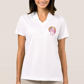 The Unicorn Frenchie Polo Shirt