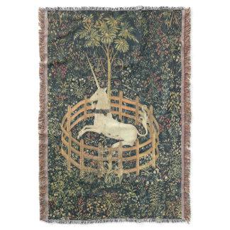 The Unicorn in Captivity (1495 - 1505) Throw