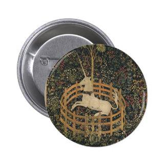The Unicorn in Captivity 2 Inch Round Button