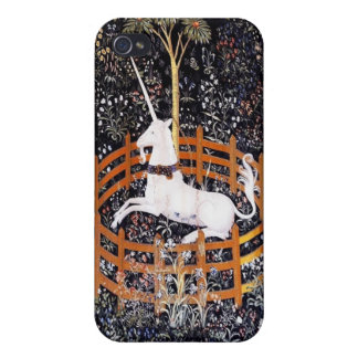 The Unicorn in Captivity iPhone 4 Covers