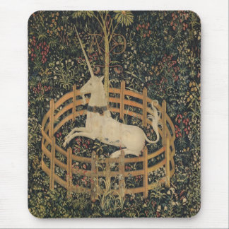 The Unicorn in Captivity Mouse Pad