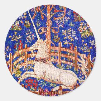 """The Unicorn in Captivity"" Stickers"