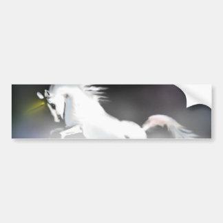 The Unicorn in the Mist Bumper Sticker