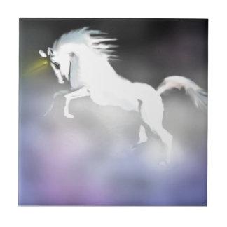 The Unicorn in the Mist Ceramic Tile