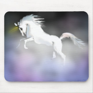 The Unicorn in the Mist Mouse Pad