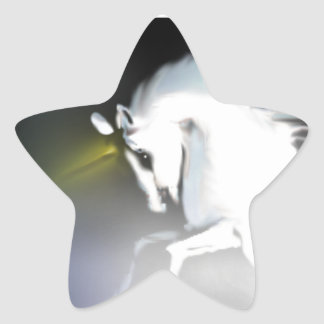 The Unicorn in the Mist Star Sticker