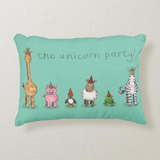 The Unicorn Party Cushion Accent Cushion