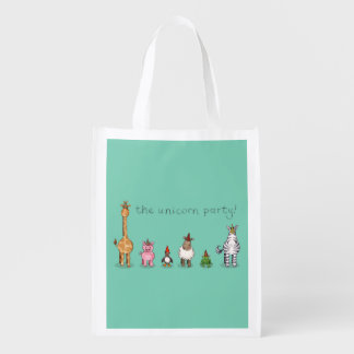 The Unicorn Party Grocery Bags