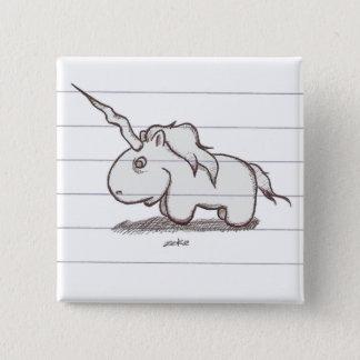 the unicorn pinback button
