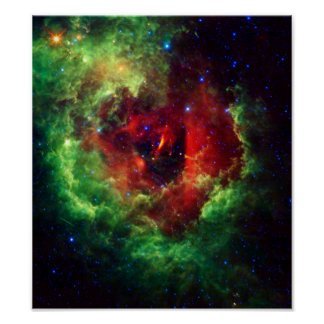 The Unicorns Rose Rosette Nebula Poster
