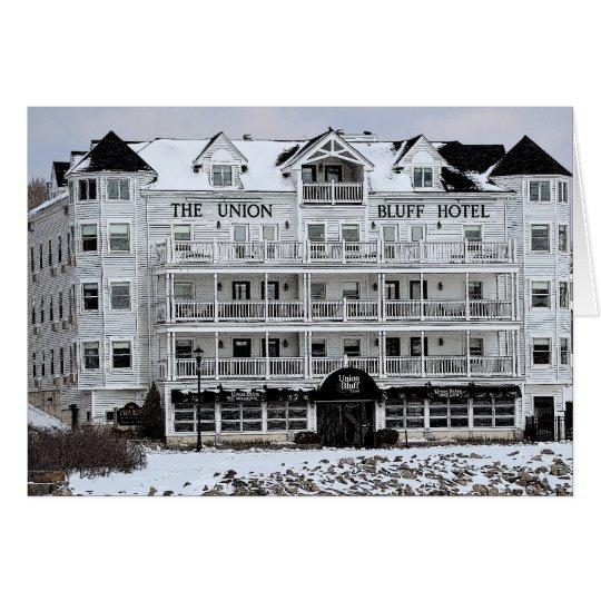 The Union Bluff - York Beach, Maine Card