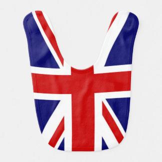 The Union Jack Classic Flag of the United Kingdom Baby Bib