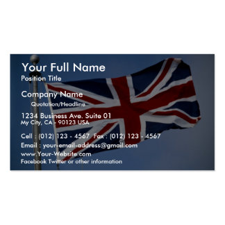 The Union Jack England Business Card Templates