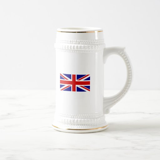The Union Jack Flag 18 Oz Beer Stein