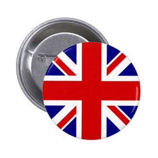 The Union Jack Flag Button