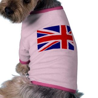 The Union Jack Flag Doggie T Shirt