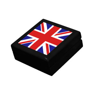 The Union Jack Flag Jewelry Boxes