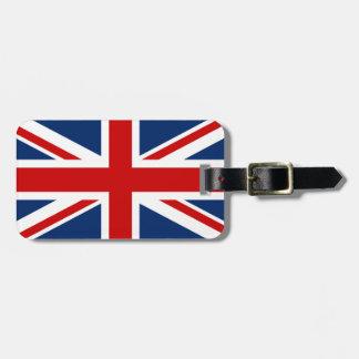 The Union Jack Flag Luggage Tag