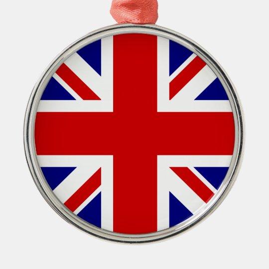 The Union Jack Flag Metal Ornament
