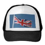 The Union Jack Flag of The United Kingdom Mesh Hat