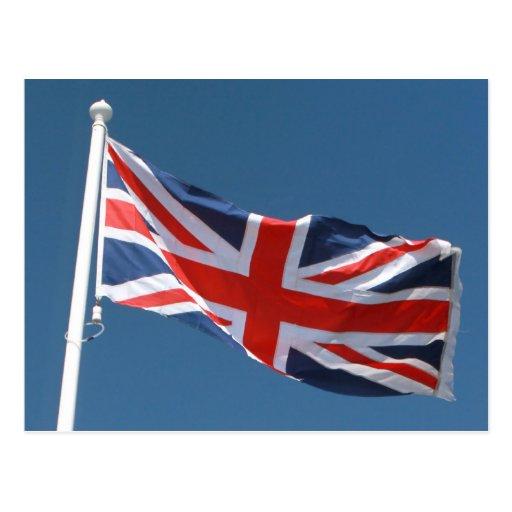 The Union Jack Flag of The United Kingdom Postcard