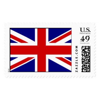 The Union Jack Flag Postage Stamps