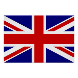 The Union Jack Flag Poster