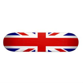 The Union Jack Flag Skate Deck