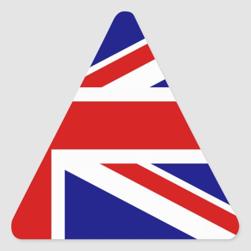 The Union Jack Flag Stickers