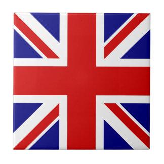 The Union Jack Flag Small Square Tile