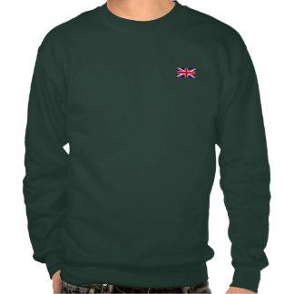 The Union Jack Flag Pull Over Sweatshirts