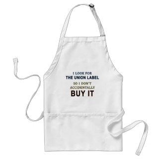 The Union Label Adult Apron